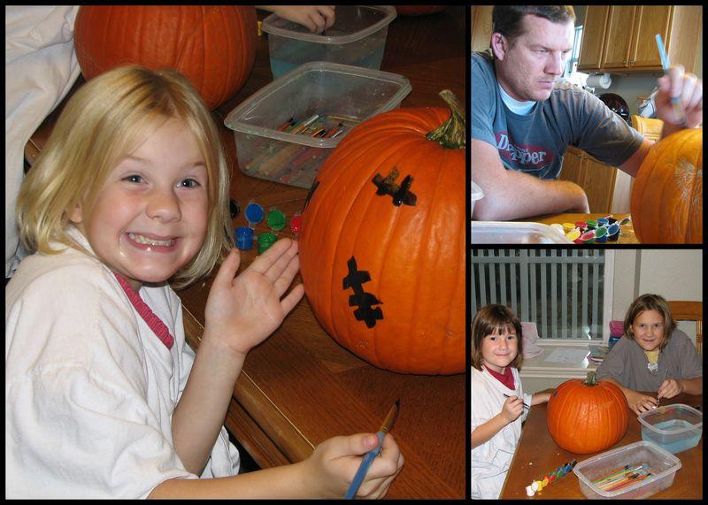 Pumpkin painting 2011
