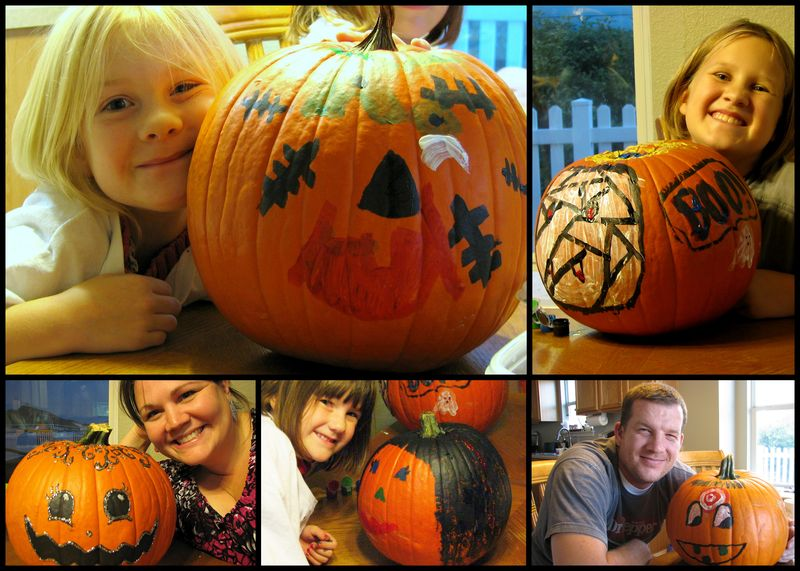 Pumpkin painting 2 2011